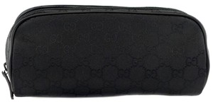 Gucci GUCCI 277649 Women's Nylon GG Guccissima Comestic Makeup Case Bag