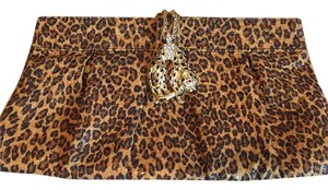 Kenneth Jay Lane Leopard Clutch