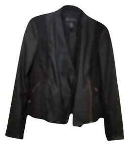 INC International Concepts Black Jacket