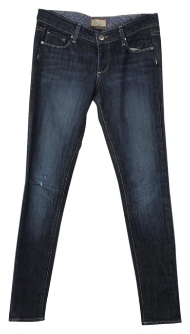 Paige Denim Skinny Jeans-Distressed