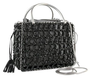 Salvatore Ferragamo Ferragamo Wicker Ferragamo Vintage Shoulder Bag