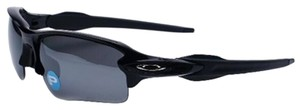 Oakley Oakley OO9271-07 Men's Flak 2.0 Black Polarized Sunglasses New In Box