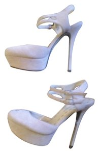 Enzo Angiolini Pump Suede Nude taupe/nude Platforms