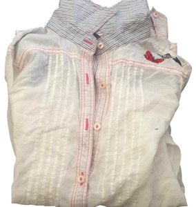 3J Workshop Button Down Shirt White