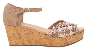 TOMS Wedge Stucco Stain Platforms