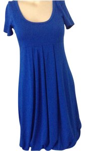 Romeo & Juliet Couture short dress Royal Blue on Tradesy