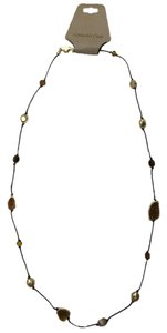 Coldwater Creek Coldwater Creek Mixed Crystal Cut Druzy Long Rope Necklace