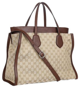 Gucci Handbag Handbag Luxury Tote in Brown