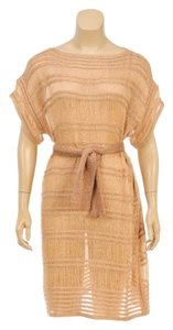 Missoni short dress Gold on Tradesy