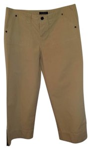 Abercrombie & Fitch Capri/Cropped Pants Tan