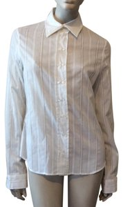 Yigal Azroul Button Down Shirt White