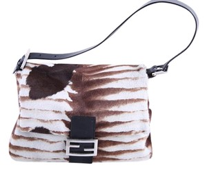 Fendi Limited Edition Animal Fur Shoulder Bag