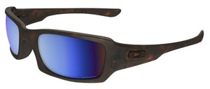 Oakley Oakley OO9238-17 Men's Fives Squared Tortoise Polarized Sunglasses