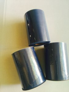Three Tulle Rolls - 6 In X 100 Yards Each - Smoke Blue Tulle