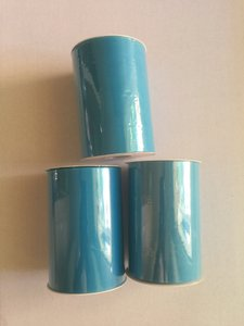 Three Tulle Rolls - 6 In X 100 Yards Each - Turquoise Tulle