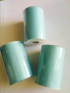 Three Tulle Rolls - 6 In X 100 Yards Each - Mint Tulle