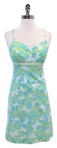 Lilly Pulitzer short dress Butterfly Print Cotton Blend on Tradesy