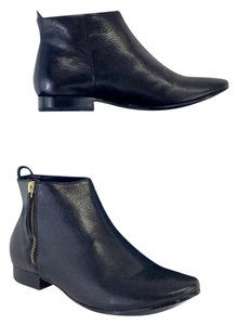 Cole Haan Black Leather Belmont Boots