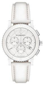 burberry NWT Burberry White ceramic And leather BU9701