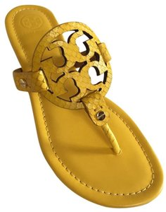Tory Burch SOUR LEMON YELLOW Sandals