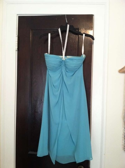Bill Levkoff Capri Chiffon 568 Destination Bridesmaid/Mob Dress Size 4 (S)