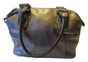 B. Makowsky Leather Soft Satchel in Taupe