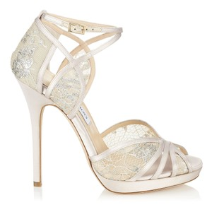 Jimmy Choo Ivory/White | Fayme 37 | Syc 010 | Ivory/White Pumps Size US 6.5 Regular (M, B)