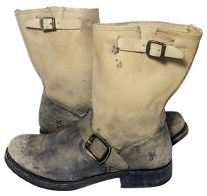 Frye 76513 Stone Wash Gray Boots