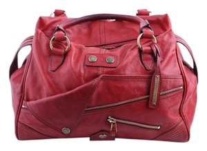 Alexander McQueen Edgy Tote in Red
