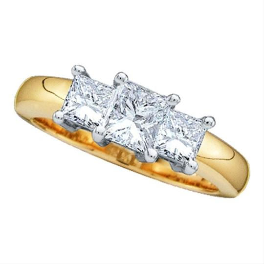Preload https://item3.tradesy.com/images/yellow-gold-diamond-14k-50-cttw-3-stone-princess-luxury-designer-anniversary-ring-1691697-0-0.jpg?width=440&height=440