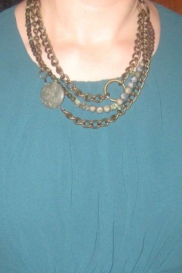 Handmade by Liriashop Multi Chain Necklace