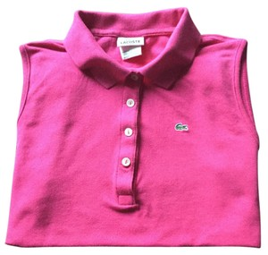 Lacoste T Shirt Raspberry