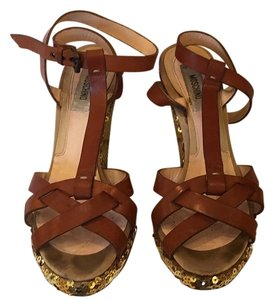 Moschino Tan Sandals