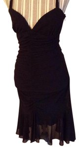 Lillie Rubin short dress Black on Tradesy