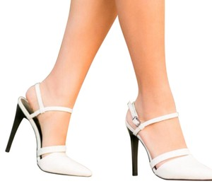 Tibi Black and White Pumps
