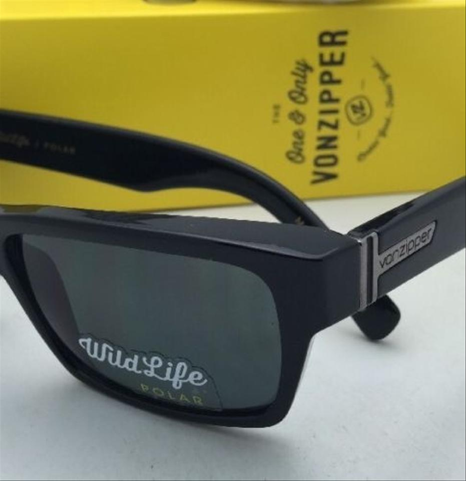 0185877b47 Von zipper fulton shiny black frame wildlife grey lenses jpg 931x960 Von  zipper sunglasses logo