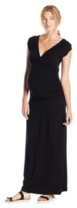 Tart Collections Maternity Vita Crossover Front Drop Waist Maxi