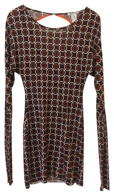 Preload https://item1.tradesy.com/images/alice-olivia-dress-orange-and-brown-1691960-0-0.jpg?width=400&height=650