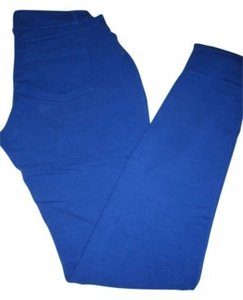 Like An Angel Jegging Skinny Pants Royal Blue