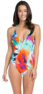 La Blanca La Blanca Bloom Garden Strappy Back One-Piece size 4