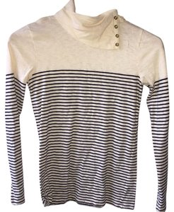 J.Crew T Shirt Cream, black