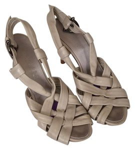 Guillaume Hinfray Bone Grey Platforms