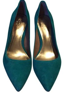Coach Emerald Pumps
