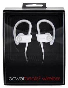 Beats By Dre * Power Beats 2 Wireless In Ear Sport Headphone (White)