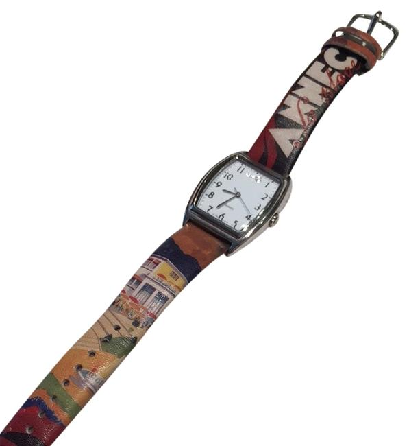 Item - Brown Yellow Red Blue Green Watch