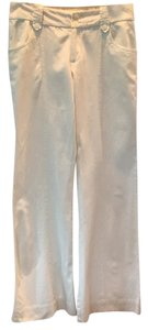 Jovovich-Hawk for Target Boot Cut Pants Cream White