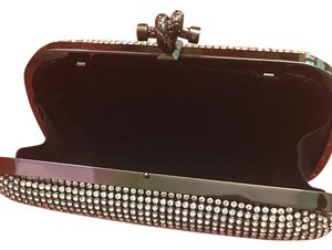 Sparkle Silver Diamond Clutch