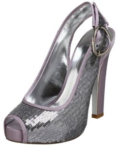Jessica Simpson Evening Heels Lavander Glitz Pumps
