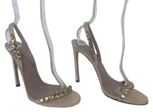 Gucci Mallory Mallory Sandal Nude Sandal Store Display Never Worn Nude Suede Formal