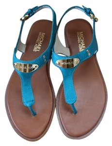 Michael Kors Turquoise Sandals